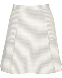 Band Of Outsiders A Line Skirt - Lyst