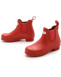 Hunter Original Chelsea Boots - Lyst