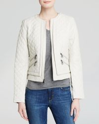 Marc New York Jacket - Sandie Quilted Leather - Lyst