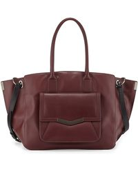 Time's Arrow - Jo Leather Tote Bag - Lyst