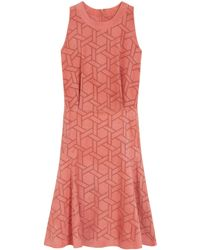 Mulberry Pink Magnolia Dress - Lyst