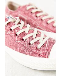 Converse Chuck Taylor All Star X Uo Washed Womens Low-top Sneaker - Lyst