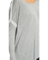 Apres Ramy Brook - Stacey Pullover - Heather Grey - Lyst