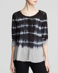 Two By Vince Camuto - Tie Dye Shirt - Lyst