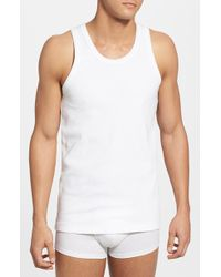 Levi's '300 Series' Tank Top, (2-Pack) - Lyst