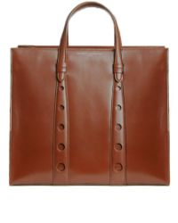 Myriam Schaefer Primo Leather Tote - Lyst