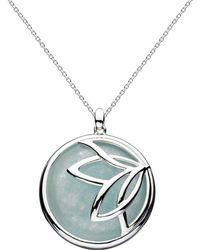 Kit Heath - Lotus Blue Jade Necklace 18 - Lyst