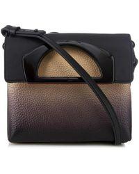 Christian Louboutin Passage Ombré Leather Messenger Bag - Lyst