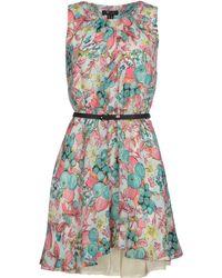 Cutie Multicolor Short Dress - Lyst