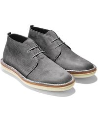 Cole Haan & Todd Snyder Lewis Chukka In Magnet - Lyst
