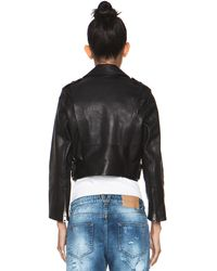 Acne Studios Mape Petite Jacket in Black - Lyst