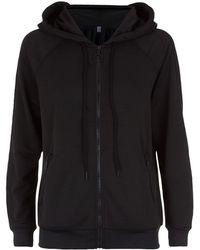 Juicy Couture Embellished Track Hoodie black - Lyst