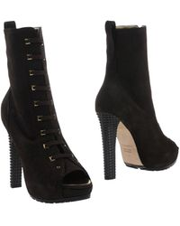 DSquared2 Brown Ankle Boots - Lyst