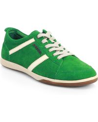 Diesel Happy Hour Suede Sneakers - Lyst