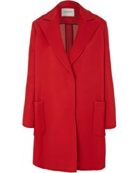 Lanvin | Red Line Detail Coat | Lyst