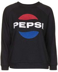 Topshop | Petite Pepsi Sweatshirt By Tee And Cake | Lyst