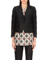 Dries Van Noten Brona Embellished Jacquard Jacket - For Women - Lyst