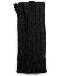 Michael Kors Fingerless Cashmere Gloves - Lyst