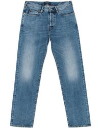 Paul Smith | Men's Classic-fit Light-wash Italian Selvedge Jeans | Lyst