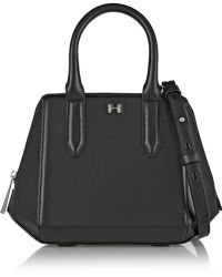 Halston Heritage Leather Shoulder Bag - Lyst