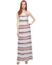 Splendid Zanzibar Crossback Maxi Dress - Lyst