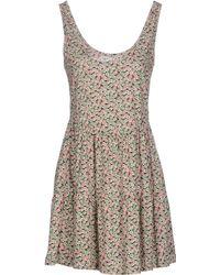 Vero Moda Short Dress green - Lyst