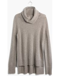 Madewell Cashmere Layering Turtleneck - Lyst