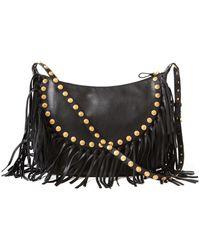 Valentino 'Rockee' Fringe Shoulder Bag - Lyst