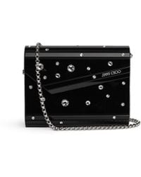 Jimmy Choo | Candy Crystal-Embellished Clutch | Lyst