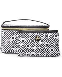 Adrienne Vittadini | Square 2-Piece Cosmetic Bag Set | Lyst
