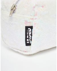 Jaded London | White Sequin Make-up Bag | Lyst