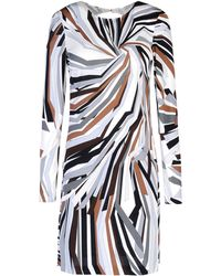 Emilio Pucci Multicolor Short Dress - Lyst