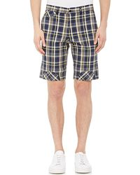 Band of Outsiders - Men's Plaid Seersucker Shorts - Lyst