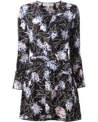 Thakoon Addition Floral Print Wrap Dress - Lyst