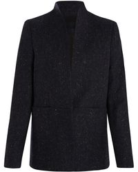 2nd Day - Navy Boucle Wool Speckled Remi Blazer - Lyst