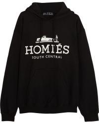 Brian Lichtenberg - Homiã©S Cotton-Blend Jersey Hooded Sweatshirt - Lyst