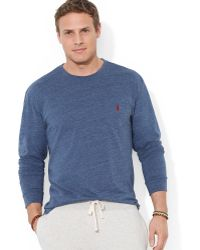 Polo Ralph Lauren Big and Tall Crewneck Pocket Tshirt - Lyst
