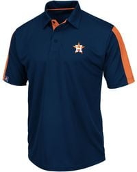 Majestic Mens Shortsleeve Houston Astros Performance Polo - Lyst
