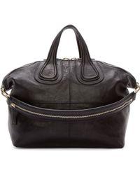 Givenchy Black Medium Zanzi Nightingale Tote - Lyst
