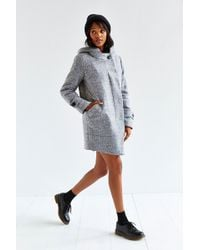 Numph - Morgan Grey Wool Coat - Lyst