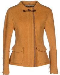 Ermanno Scervino Blazer orange - Lyst
