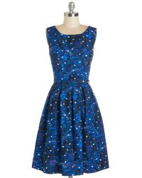 ModCloth Just Be Cosmic Dress - Lyst