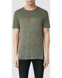 AllSaints Pavant Crew T-Shirt - Lyst