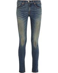 Rag & Bone/JEAN Mid-Rise Skinny Jeans - Lyst
