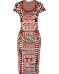Temperley London Mimi Stretch Jacquard-knit Dress - Lyst