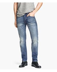 H&M Jeans Slim Fit - Lyst