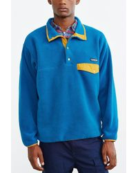 Patagonia - Synchilla Snap-t Fleece Pullover Jacket - Lyst