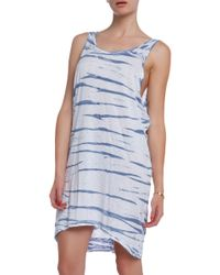 Lacausa Drape Tank Dress - Lyst