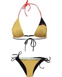 Fendi - Creatures Triangle Bikini - Lyst