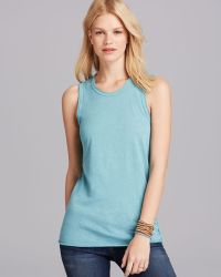 James Perse Tank Inside Out Tomboy Muscle - Lyst